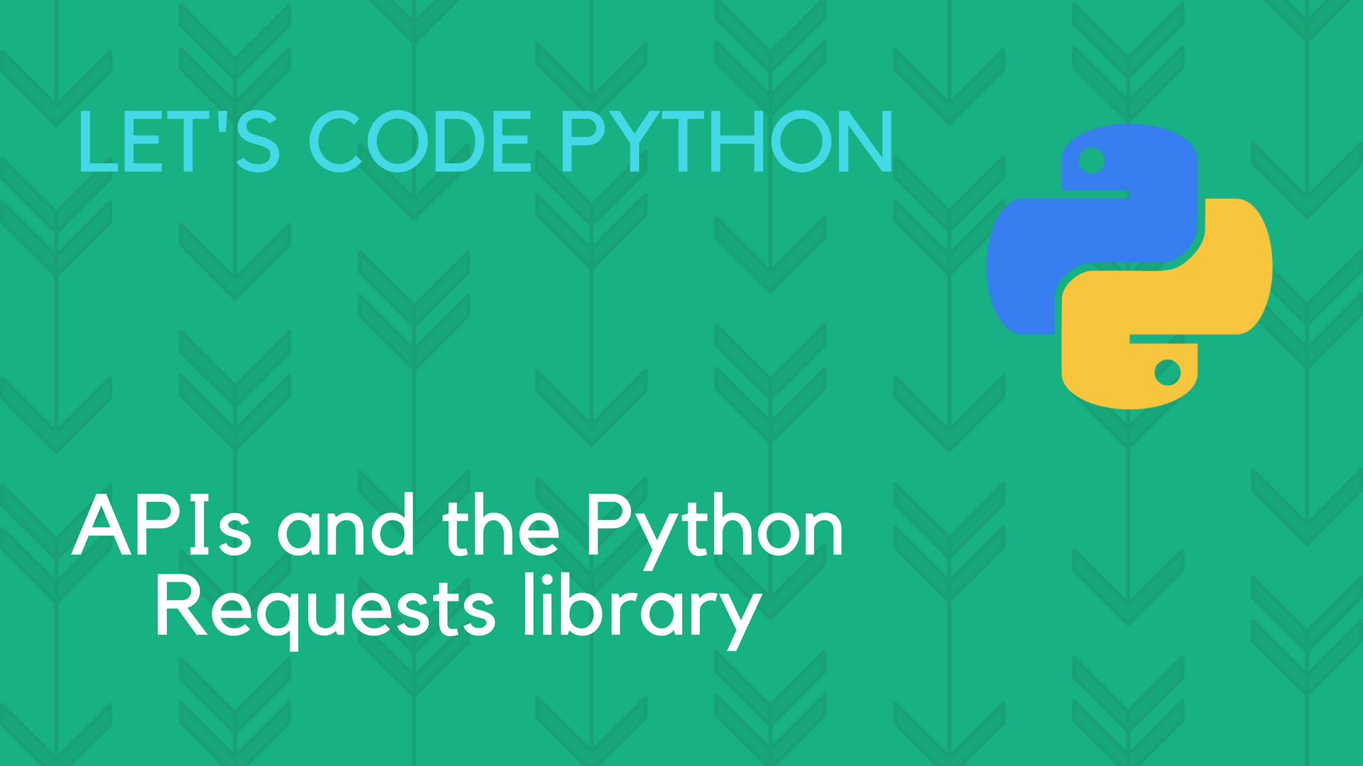 APIs and the Python Requests library