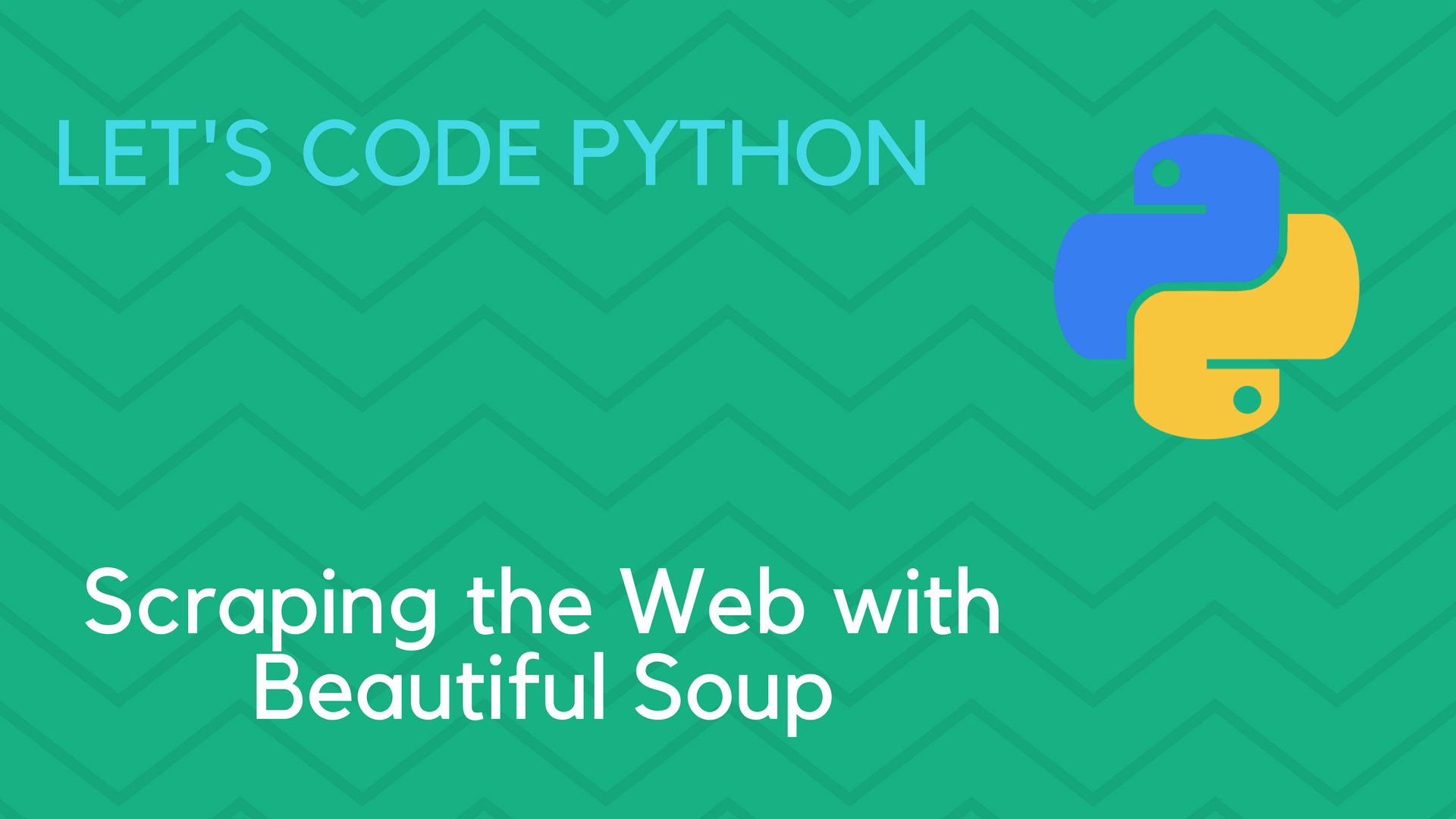 Scraping the Web with Beautiful Soup